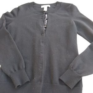 Women's Banana Republic black cardigan sweater